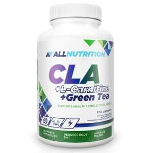 CLA + L-CARNITINE + GREEN TEA 120 caps Allnutrition