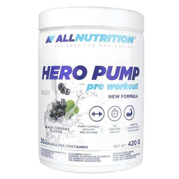 Hero Pump ALLNUTRITION 30 servings No Caffeine