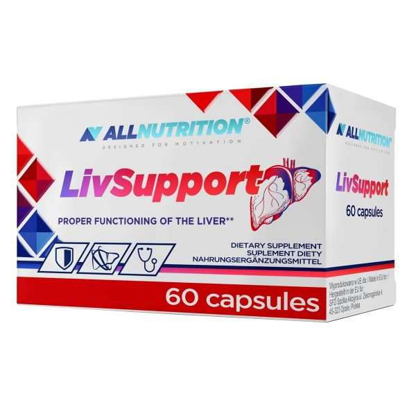 LIVSUPPORT 60 caps Allnutrition
