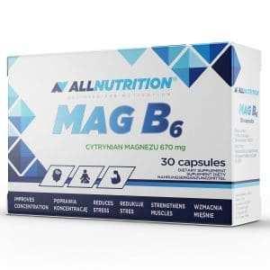 MAG B6 30 capsules Allnutrition