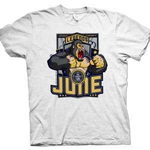 Legends Are Born in June T-shirt Black Gorilla