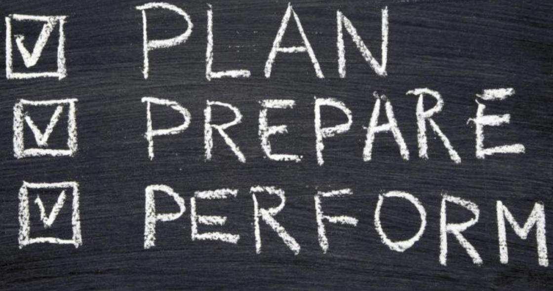 Fail to prepare, prepare to fail